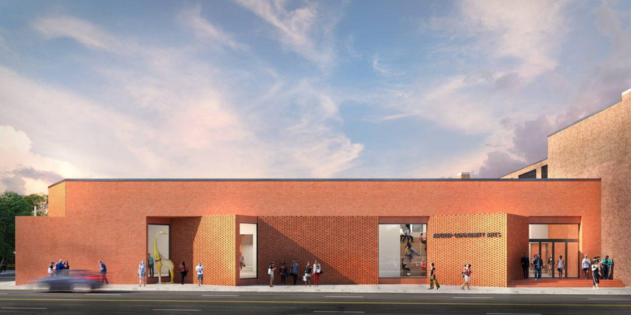 Front Elevation 2 - Smith & Sauer - Astrup Community Arts